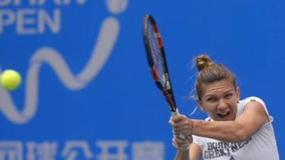 Simona Halep, la Wuhan: Ora de start a meciului din optimile de finala