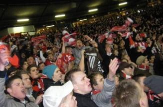 Steaua - Aalborg: Fanii danezi au luat teapa vietii