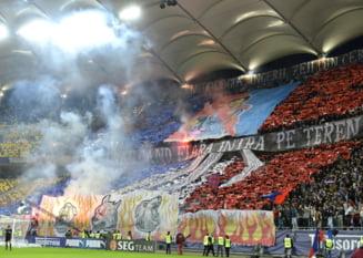 Steaua - Dinamo: Primele incidente inainte de derbi. Doua grupuri de fani s-au luat la bataie
