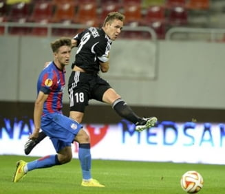 Steaua, in Europa League: Danezii contesta victoria romanilor