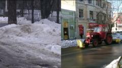 Tara lui Dorel: Deszapezire fara zapada, intr-un oras din Romania (Video)