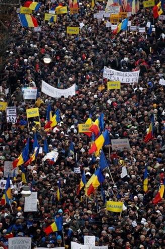 The New York Times: Protestele din Romania au luat avant