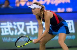 Turneul Campioanelor: Caroline Wozniacki, esec dur la inceputul campaniei de aparare a titlului in Singapore