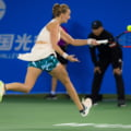 Turneul Campioanelor: Petra Kvitova a fost invinsa categoric in primul meci de Elina Svitolina