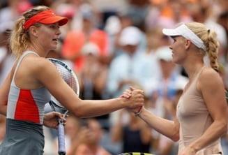 Turneul Campioanelor: Sharapova, invinsa de Wozniacki dupa un meci dramatic