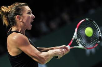 Turneul Campioanelor: Simona Halep obtine o victorie magnifica in primul meci