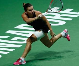 Turneul Campioanelor: Simona Halep, invinsa de Ana Ivanovici