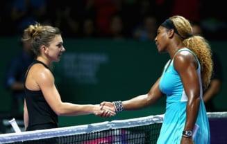 Turneul Campioanelor: Simona Halep o califica pe Serena Williams in semifinale