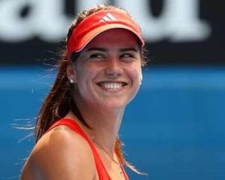 US Open 2014: Jucatoarea invinsa de Sorana Carstea a facut o criza de nervi