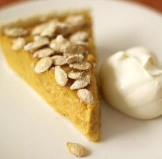 Un dulce de week-end: Tarta cu dovleac