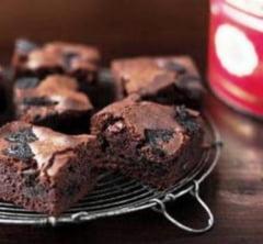 Un dulce de weekend: Negrese cu biscuiti