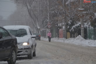 Vremea in Bucuresti: Ger, lapovita, ninsoare si polei, pana duminica