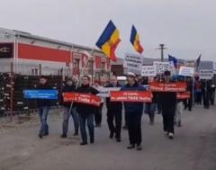 #sieu O firma din Oradea si-a suspendat activitatea intreaga zi (Video)