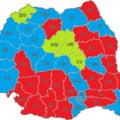 ANALIZA Harta politica a Romaniei dupa alegerile locale. Cum a fost impartita Romania intre PSD, PNL si UDMR la consiliile judetene