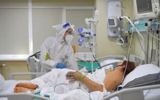 CORONAVIRUS ROMÂNIA. Crește ușor numărul pacienților internați la ATI. Două decese raportate pentru ultimele 24 de ore