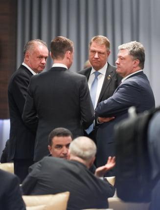 Corespondenta de la Varsovia - Iohannis s-a resemnat? Nimic despre Marea Neagra in discursul de la Consiliul NATO de sambata