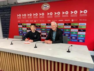 EXCLUSIV Ne pleaca valorile in strainatate. Unul dintre cei mai buni tineri fotbalisti romani a semnat cu PSV