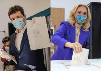 Exit Poll FINAL. Primaria Bucuresti: creste diferenta intre primii doi candidati. Nicusor Dan - 47,8%, Gabriela Firea - 38,2%