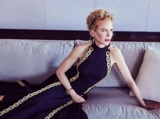 FOTO Aparitie unica la Globurile de Aur. Actrita Nicole Kidman, asa cum rar a fost vazuta