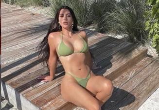 FOTO Kim Kardashian n-a mai patit niciodata asa ceva. Ce i s-a intamplat vedetei pe scaunul de la coafor
