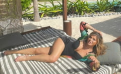 FOTO Loredana Groza isi petrece inceputul de an la soare, pe o plaja din Mexic