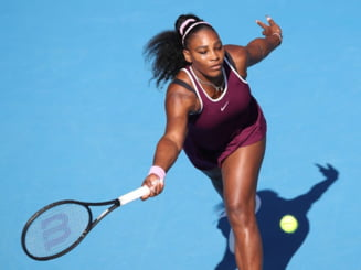 FOTO Serena Williams, aparitie socanta la Australian Open
