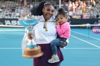 FOTO Serena Williams si-a facut fiica fotomodel