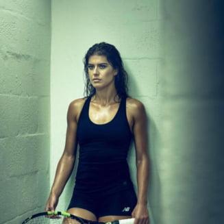 FOTO Sorana Cirstea, faza lunii in tenis. Romanca a facut un spagat de exceptie in Franta