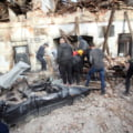 FOTO VIDEO Imagini infioratoare de la cutremurele din Croatia. Cladiri, masini si o jumatate din orasul Petrijna au fost distruse