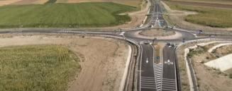 FOTO/VIDEO Imagini spectaculoase din drona cu evolutia lucrarilor la autostrada Moldovei. Cat s-a realizat din proiect