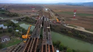 FOTO/VIDEO Primul segment din Autostrada Moldovei, varianta de ocolire a Bacaului, aproape de finalizare