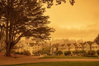 FOTO/VIDEO San Francisco, imagini care amintesc de un scenariu post-apocaliptic, dupa ce soarele a fost acoperit de fumul incendiilor