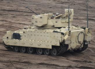 Fotoreportaj Ziare.com Al Doilea Razboi Rece. Cum pregateste armata SUA schimbul de tancuri la Mihail Kogalniceanu
