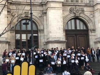 """Toti pentru Justitie! Magistratii continua protestele. Iohannis a discutat cu ei, Guvernul pregateste """"ordonanta prescriptiei"""""""