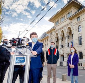 """UPDATE VIDEO Nicusor Dan a depus juramantul si este oficial noul primar general al Capitalei: """"Cer bucurestenilor rabdare si solidaritate pe termen scurt!"""""""