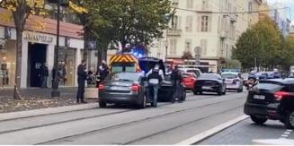 UPDATE VIDEO Atac terorist la Nisa. Trei persoane au fost ucise la Bazilica Notre-Dame din Nisa; o femeie a fost decapitata