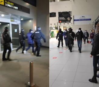 UPDATE VIDEO Unul dintre cei mai de temut interlopi ai Romaniei, aflat pe lista Most Wanted a Politiei Romane, a fost prins si adus in tara