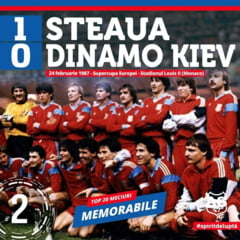 VIDEO 24 februarie, ziua pe care Hagi si Steaua nu o vor uita niciodata