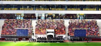 VIDEO A fost finalizat si al doilea stadion pentru EURO 2021. Premierul Orban, prezent la receptie