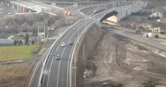 VIDEO A10 Sebes - Turda: La trei saptamani de la inaugurare a fost deschis si nodul de la Alba Iulia Nord