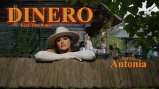 VIDEO Antonia si-a lansat ultima piesa intr-o tinuta sexy in mediul rural