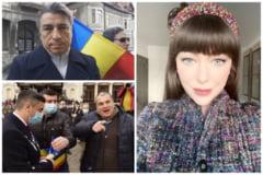 VIDEO Cine este barbatul care l-a agresat pe primarul Mihai Chirica. Face parte din gruparea de protestatari ai Oanei Lovin si este fanul conspirationistului Gelu Visan