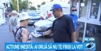 """VIDEO Cinism ingrozitor in cazul sloganului lui Piedone, condamnat in prima instanta in dosarul Colectiv: """"Ai grija sa nu te frigi la vot!"""""""