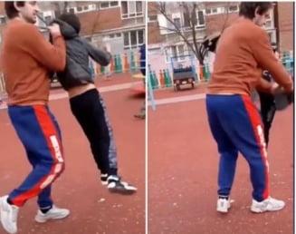 VIDEO Copilul de 13 ani agresat brutal in parcul de joaca are fisura craniana. Medicii au decis sa il transfere la Timisoara