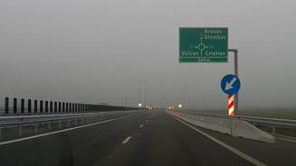 VIDEO Cum se circula pe noul lot Rasnov - Cristian, parte din autostrada Bucuresti-Brasov. Traficul a fost deschis joi