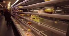 VIDEO Efectul Brexit se simte puternic in supermarketurile din Marea Britanie. Imagini cu rafturi goale, din cauza problemelor privind aprovizionarea