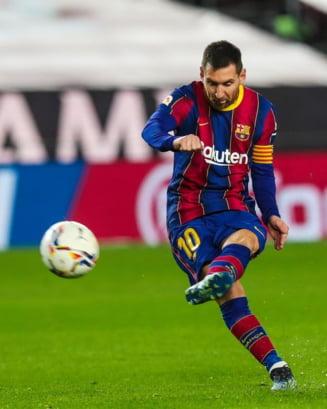 VIDEO In ziua in care i-a fost dezvaluit salariul faraonic, Messi a raspuns cu un gol din alta galaxie