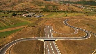 VIDEO Incepe oficial constructia lotului Nadaselu - Zimbor al A3. Cum arata din drona traseul pe care va trece autostrada