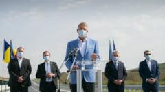 VIDEO Iohannis, la inaugurarea lotului Iernut-Chetani din Autostrada Transilvania: Nu am venit pentru festivisme. Trebuie sa lucram mai repede