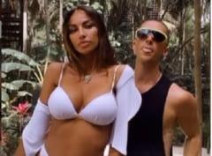 VIDEO Madalina Ghenea, seducatoare in paradis. Cine e barbatul cu care si-a facut de cap